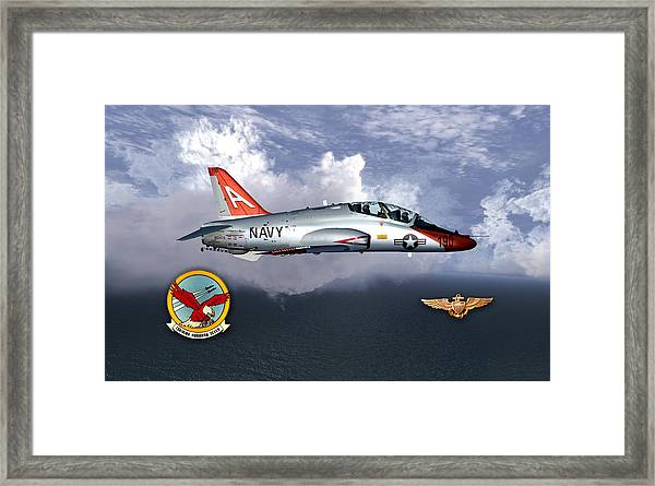 T-45 With Wings Framed Print