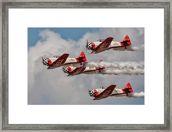 T-6 Texan Framed Print