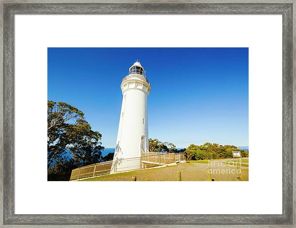 Table Cape Architecture Framed Print