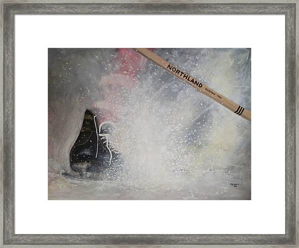 Tacks Framed Print by Ron  Genest