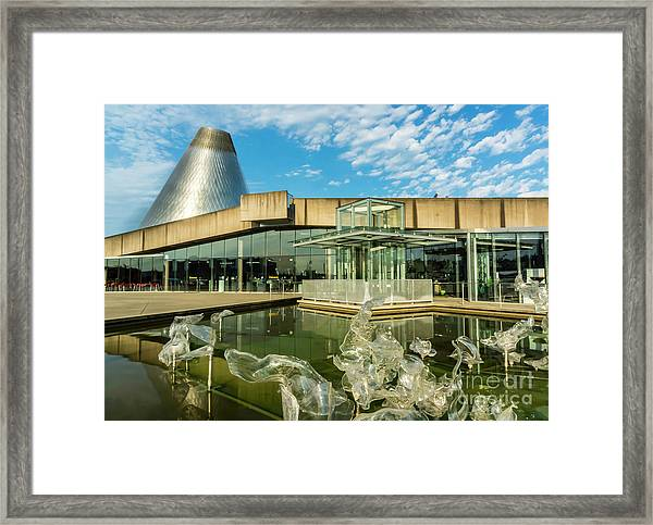 Tacoma's Museum Of Glass  Framed Print