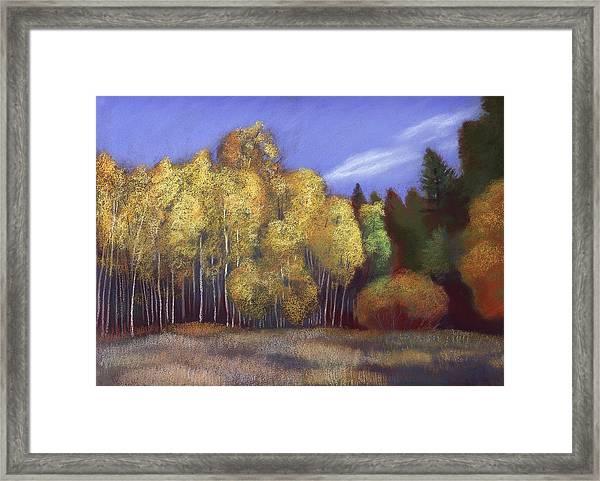 Tahoe Ridge Framed Print