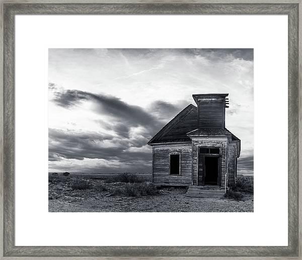 Taiban Presbyterian Church, New Mexico #3 Framed Print