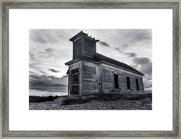 Taiban Presbyterian Church, New Mexico Framed Print