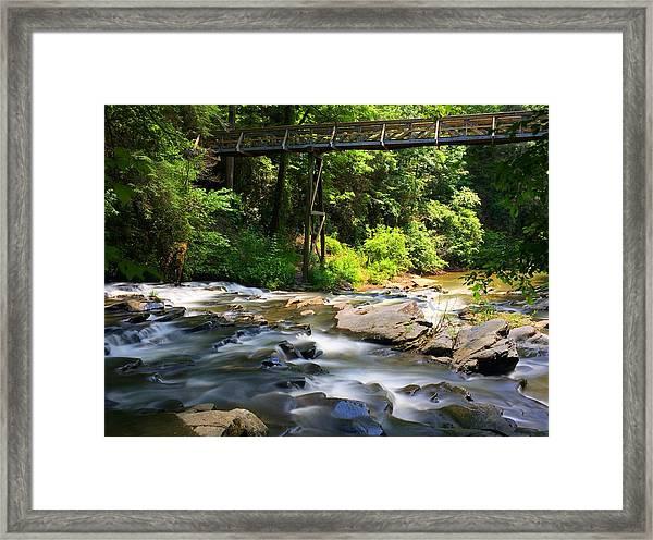 Tails Creek Framed Print