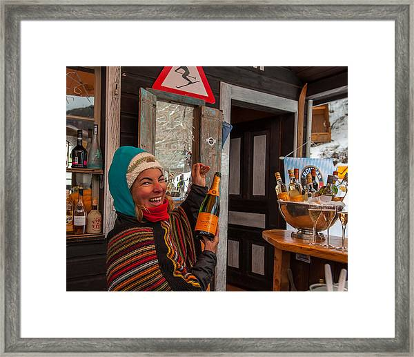 Taimi In Zermatt Switzerland Framed Print
