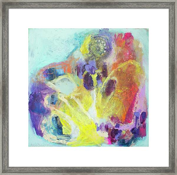 Take It To Heart Framed Print