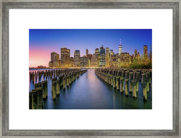 Take Me To Nyc Framed Print