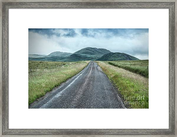 Take Me To The Valley Framed Print