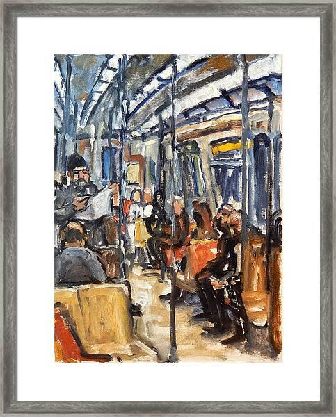 Take The A Train Framed Print