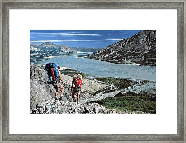 Take This View And Love It Framed Print
