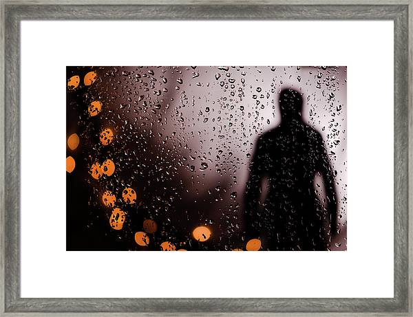 Take Your Light With You Framed Print