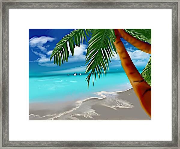 Takemeaway Beach Framed Print