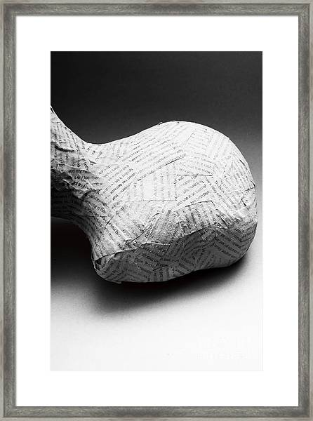 Taken Out Of Context Framed Print