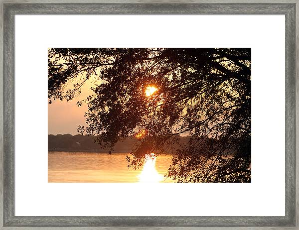 Takes Your Breatth Framed Print