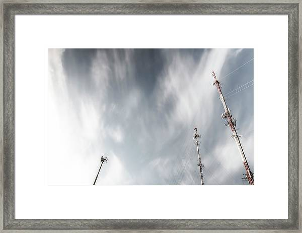 Talk To Each Other Framed Print