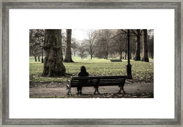 Talking To The Ents Framed Print