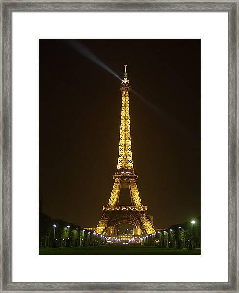 Tall Eiffel Tower Framed Print