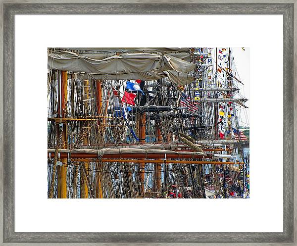 Tall Ship Series 4 Framed Print