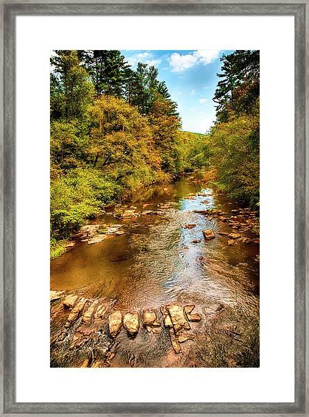 Tallulah River Framed Print