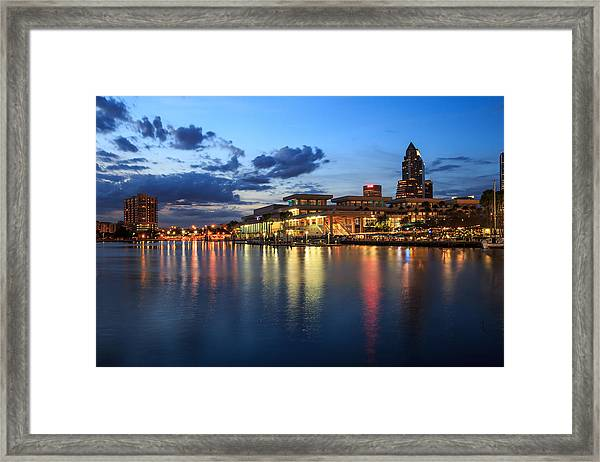 Tampa Convention Center Framed Print