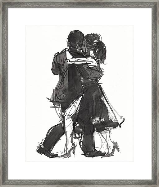 Tango 2 Framed Print