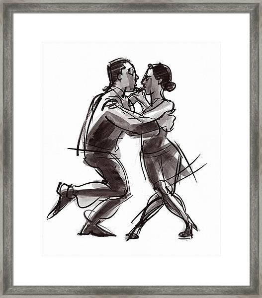 Tango #22 Framed Print