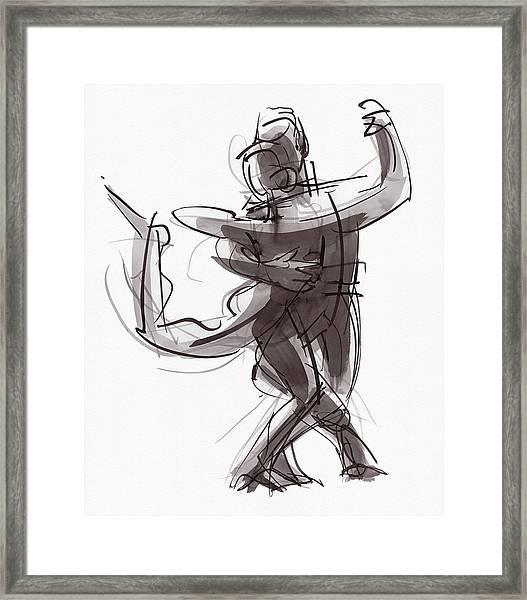 Tango #25 Framed Print