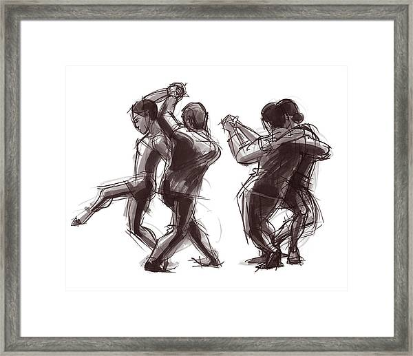 Tango #58 And #59 Framed Print