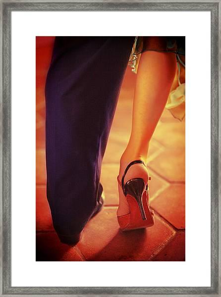 Tango Together Framed Print