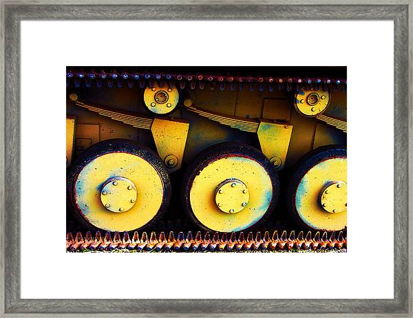 Tank Detail Framed Print