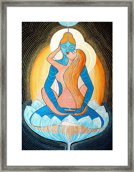Tantric Love Framed Print
