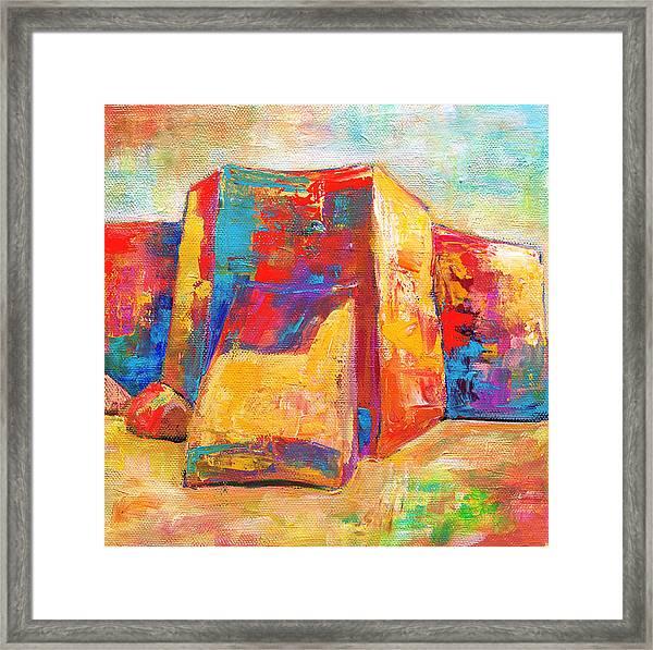Taos Church Framed Print