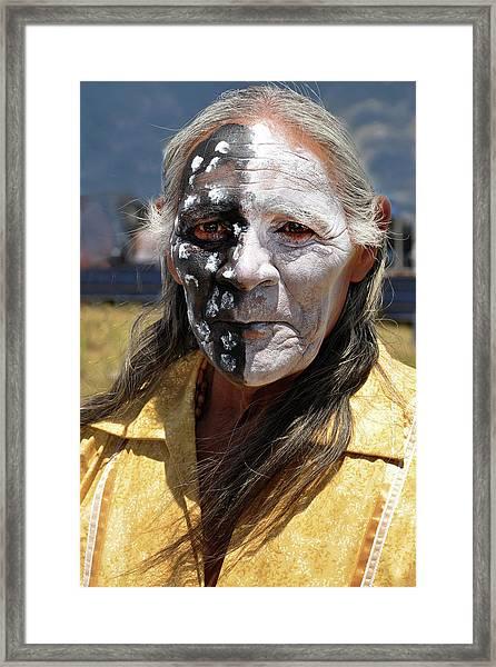 Taos Elder Framed Print