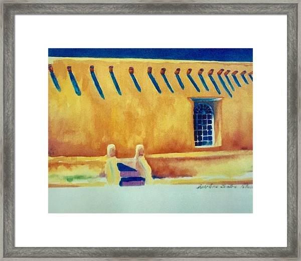 Taos Noon Framed Print