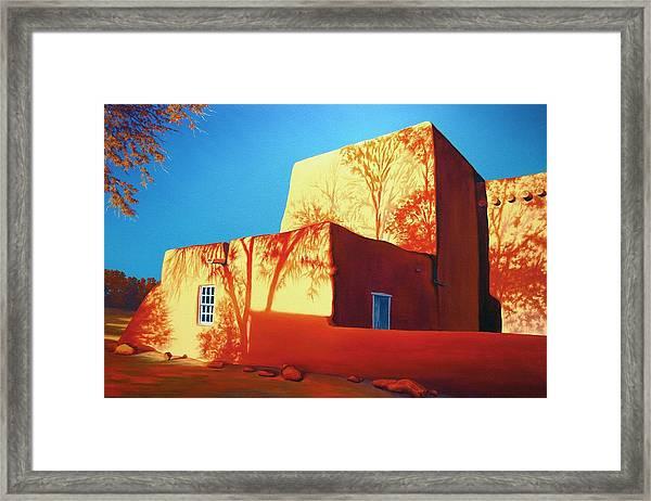 Taos Tapestry Framed Print