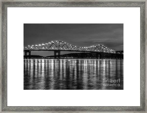 Tappan Zee Bridge Twilight IIi Framed Print