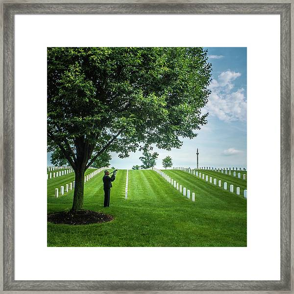 Taps Color Framed Print