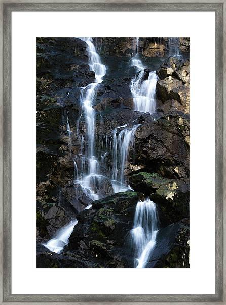 Tarcento's Cascade 3 Framed Print