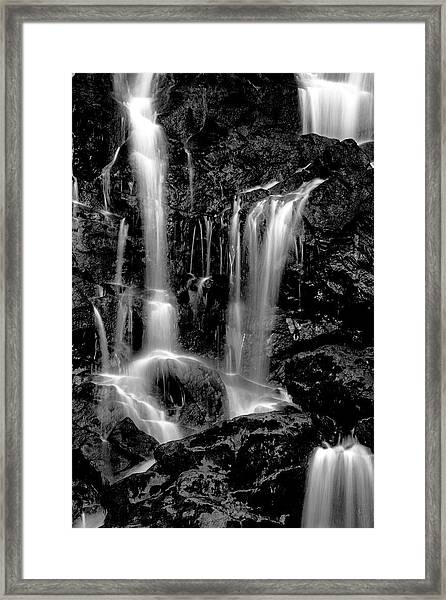 Tarcento's Cascade 4 Framed Print
