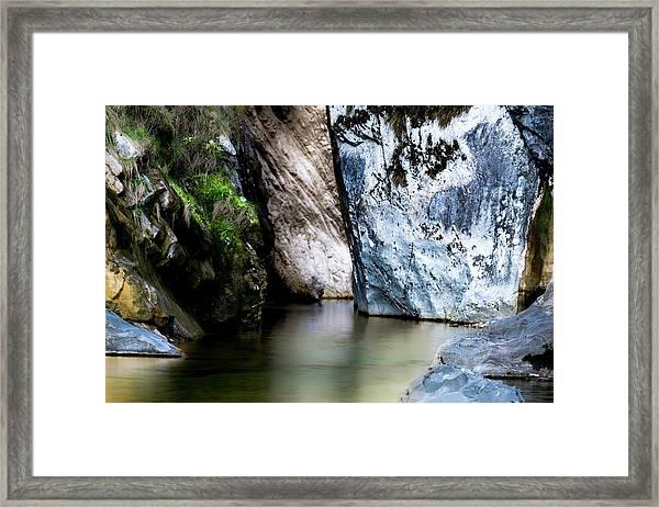 Tarcento's Cascade 6 Framed Print