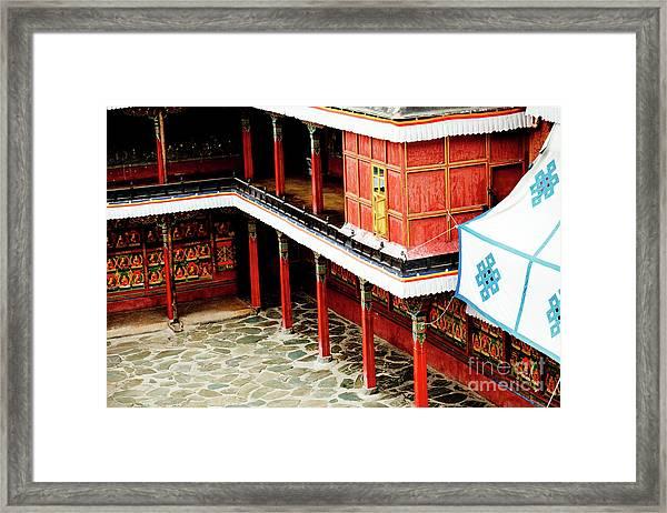 Tashilhunpo Monastery Shigatse Tibet Artmif.lv Framed Print