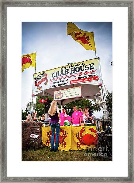 Taste Of Charleston Framed Print