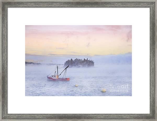 Taste Of Dawn Framed Print