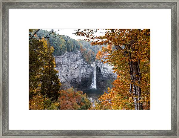 Taughannock Autumn Framed Print