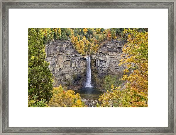 Taughannock Falls Framed Print