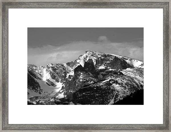 Taylor Peak Framed Print