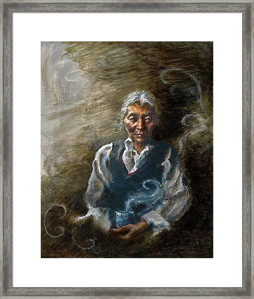 Tea And Memories Framed Print