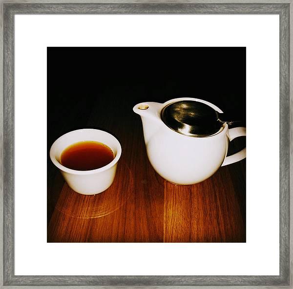 Tea-juana Framed Print