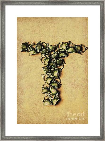Tea Pot Art Framed Print